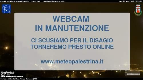 Palestrina - Panoramica dal basso