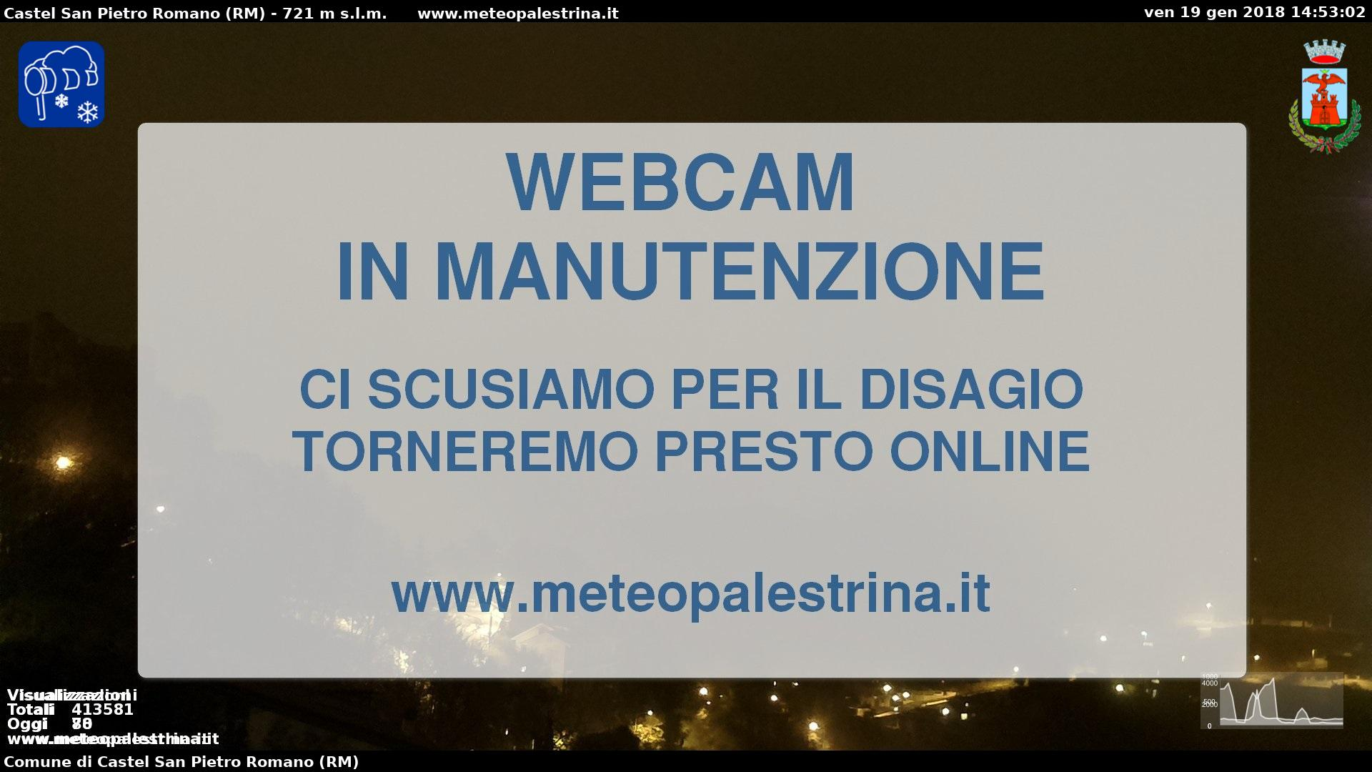 Panoramica Webcam Palestrina (Roma)
